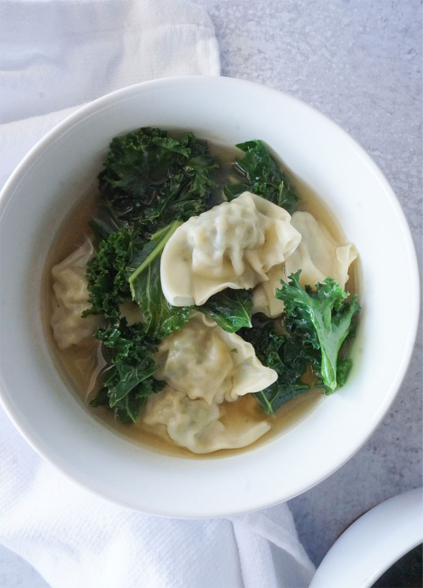Wonton Soup-Ready in 15 Minutes